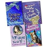 Cornelia Funke 4 Books Collection Pack Set RRP: �33.76 (When Santa Fell to Earth, Igraine the Brave, Dragon Rider, Saving Mississippi)by Cornelia Funke