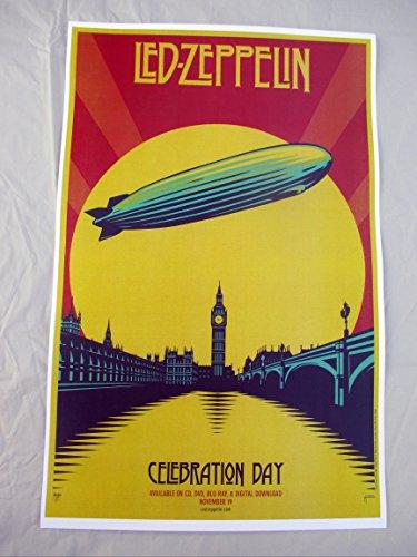 2007 Led Zeppelin Celebration Day Album Promo Concert Poster