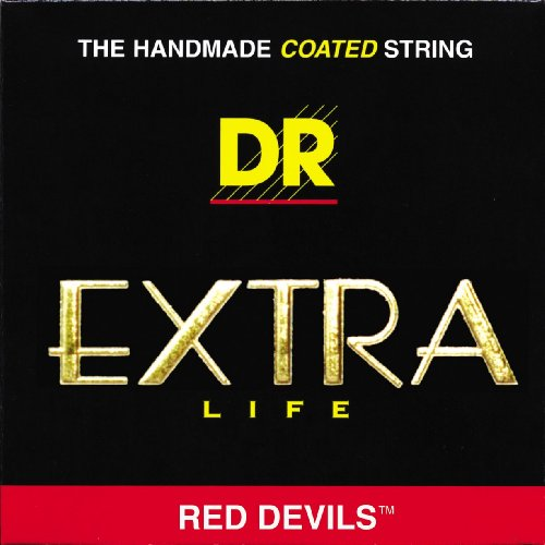 DR Strings Red Devils - Extra-Life Red Coated