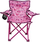 Kids Childrens Folding Chair Cup Hold...
