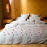 JYLW schmirgeln reiner Baumwolle Bettwäsche 4 teiliges Set, einfache, pastorale vier gesetzt, westlichen Wind Sets, Kinder quilt decken, Coral Fleece, Baumwolle vier Satz, 1,8, 2 Meter Bett Twin vierteilige Anzug