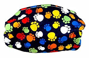 Colorful Paws Face Mask (Child Size) 2-Pack Deal! Kids Allergy Mask - Filters Dust, Pollen, Allergens, & Flu Germs with Antimicrobial Agent