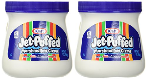 Kraft Jet Puffed Marshmallow Creme Spread, 7oz (Pack of 2) (Marshmallow Cream compare prices)