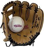 Midwest Kids Glove - Guante de béisbol infantil, tamaño 9 inch, color brown / negro