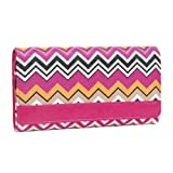 Wallets ~ Pink Fuchsia Zigzag Stripes Wallet