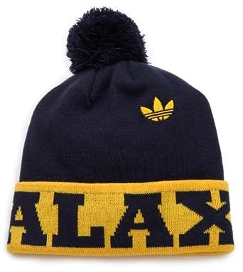 MLS Los Angeles Galaxy, Cuffed Pom Knit Hat, One Size Fits All, Blue