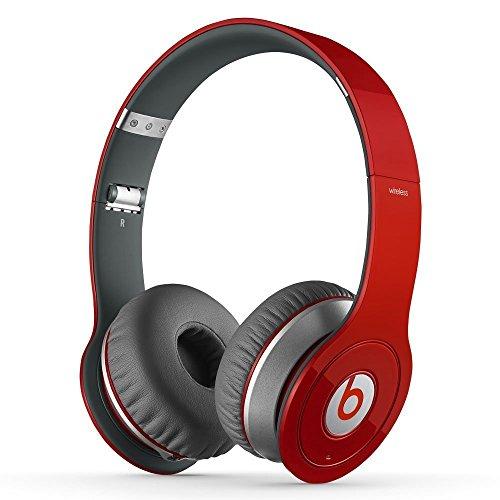 Beats Wireless On-Ear Headphone - Red (Certified Refurbished)