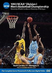1993 NCAA Division I Men's Basketball Championship: UNC vs. Michigan