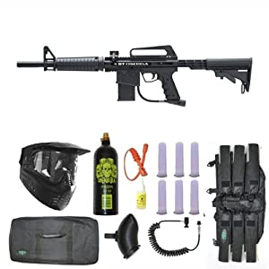 Buy BT Omega Paintball Marker Gun 3Skull Sniper Set - Black by 3Skull