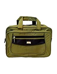 "AYS 16"" Stylish Green Colour Smart Laptop Sleeve Sling Office Bag Travel Bag"