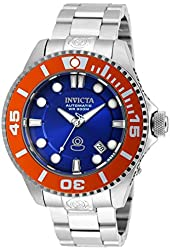 Invicta Pro Diver Automatic Blue Dial Stainless Steel Mens Watch 20174