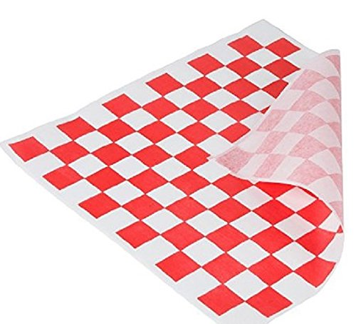 Food Grade Tissue Paper, Red White Check (Food Grade Liner compare prices)