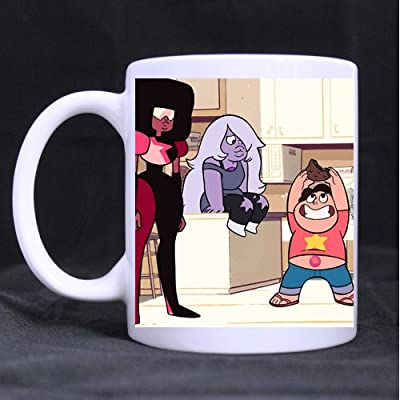 "Steven Universe Funny Custom Ceramic White Mug Tea Coffee Cup 3.23""W x 3.74""H"
