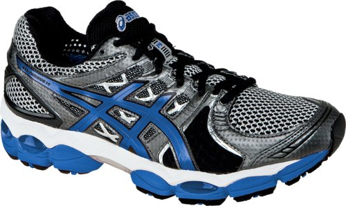 ASICS ASICS Men's GEL-Nimbus 14 Running Shoe,Lightning/Blue/Black,10.5 M US