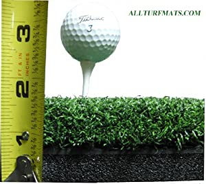 "60"" x 60"" Ultimate SuperMat Golf Turf - Holds A Wooden Tee"