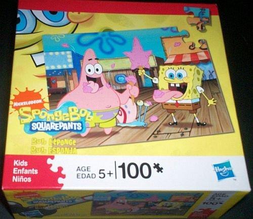 Nickelodeon Spongebob Squarepant 100 Piece Puzzle - Spongebob & Patrick