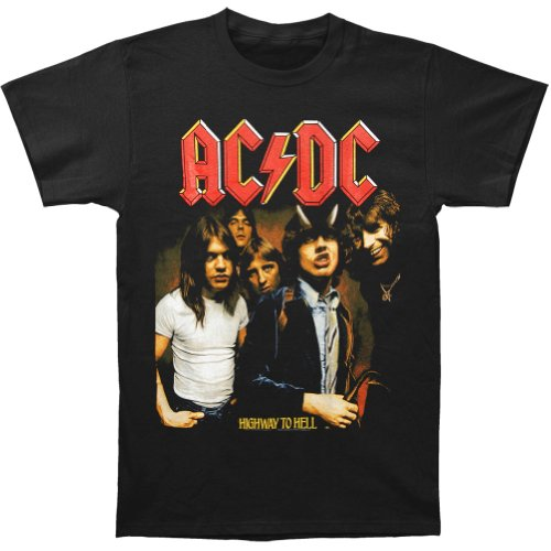Officially Licesned AC/dC - Mens Highway To Hell T-shirt - S to XL