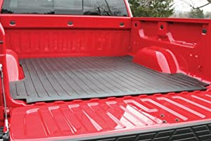 Truck Bed Mat For - Dodge - Ram Pickup - 2003-2015 - Black - 8 Ft Bed