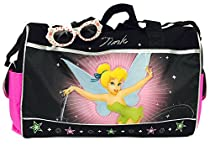 Disney Tinkerbell Duffle Bag and One Stylish Sunglasses Set