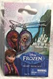 New Disney Frozen Sisters 2 piece Necklace Elsa & Anna