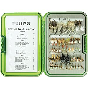 Umpqua Rockies Trout Fly Selection with UPG Fly Box by Umpqua
