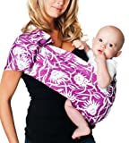 Hotslings Adjustable Pouch Baby Sling, Perennial, Regular by Hotslings