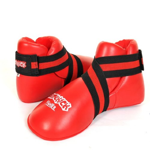 Sidekick Full Contact Kickboxing Foot Pads Guards Kick Boots M/L/XL