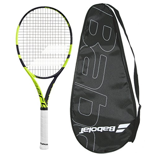 Babolat 2016 AeroPro Lite - Pure Aero Lite - Strung with Cover Tennis Racquet