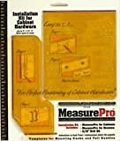 Measure Pro Installation Guide Kit For Cabinet Hardware 3/16""