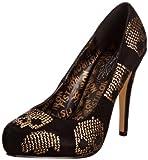 Iron Fist Goldstar IFLPLH0049 - Zapatos de tela para mujer, color negro, talla 35.5