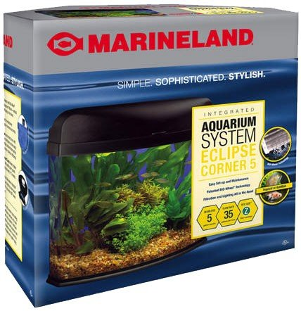 Aquarium filtration salecheap marineland eclipse seamless for Eclipse fish tank