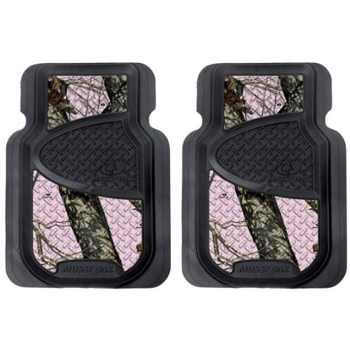 Mossy Oak Pink Camo Front Floor Mats Ropes Amazon Com