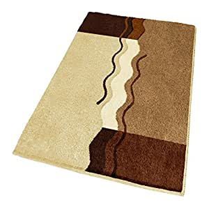 Amazon Com Non Slip Brown Bath Rug Large 23 6 Quot X 39 4