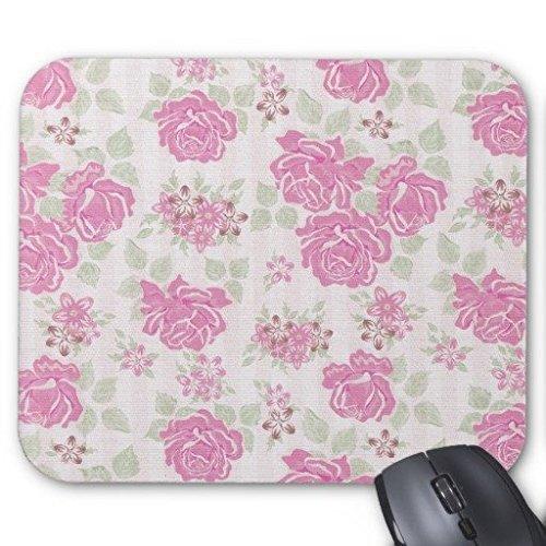 gaming-maus-pad-vintage-pink-grun-rosen-blumen-rechteck-office-mousepad-229-x-178-cm