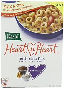 Kashi Heart to Heart Flax Cereal, Nutty Chia, 10.30 Ounce
