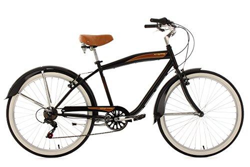 ks-cycling-herren-fahrrad-beachcruiser-vintage-rh-46-cm-schwarz-26-729b