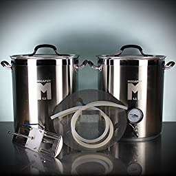 10 Gallon All-Grain Deluxe Kettle Kit