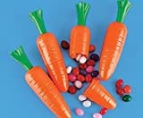 12 Plastic Carrots for Easter Egg Hunts