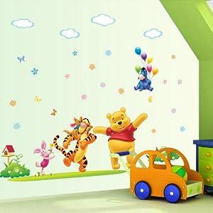 colorfulworld xl winnie the pooh hallo winnie. Black Bedroom Furniture Sets. Home Design Ideas