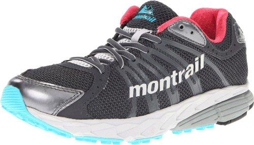 Montrail Women's Fluidbalance Trail Running Shoe,Black/Afterglow,11 M US