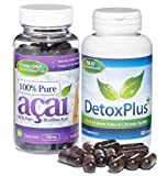 Acai Pure Colon Cleanse Combo Pack (1 Month Supply) - REVIEWED BY THE SUNDAY EXPRESS