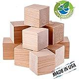 1 5 natural unfinished hardwood wood toy for Plain wooden blocks for crafts