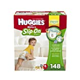 Huggies Little Movers Slip-On Diaper Pants, Size 4, 148 Count by American Health & Wellness