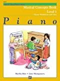 img - for Alfred's Basic Piano Course Musical Concepts, Bk 3 (Alfred's Basic Piano Library) book / textbook / text book