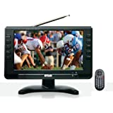 SuperSonic SC499D 9 LCD Portable Digital TV with ATSC/NTSC Tuner and AC/DC Power (1 Each)