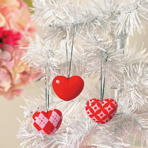 Valentine's Day Tree Ornaments - Home & Valentine's Day Decor