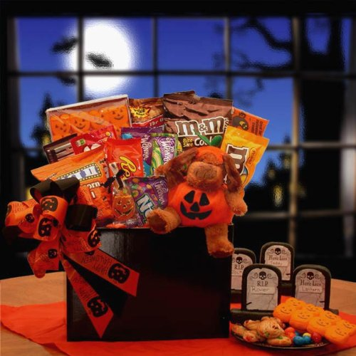 The Puppy Prowl Halloween Gift Basket