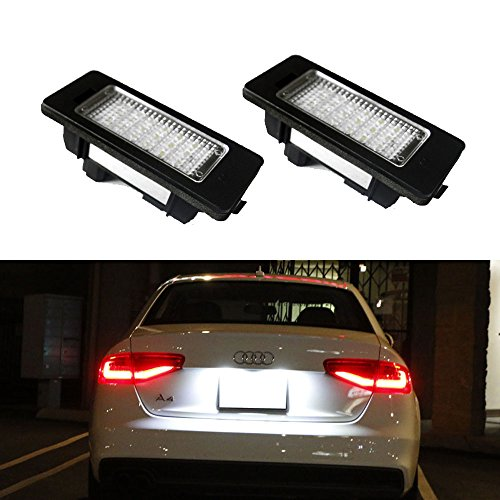 ijdmtoy-2-24-smd-error-free-led-license-plate-light-lamps-for-audi-a3-a4-a5-a6-a7-s3-s4-s5-s6-s7-rs4