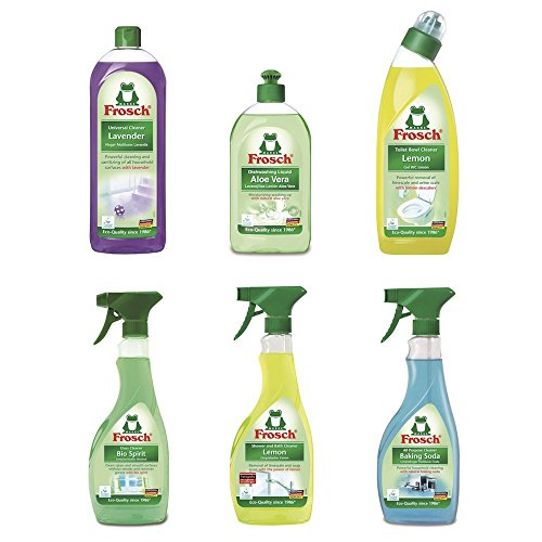 Frosch Starter Kit Sampler Variety Pack (pack of 6) (Natural Household Products compare prices)