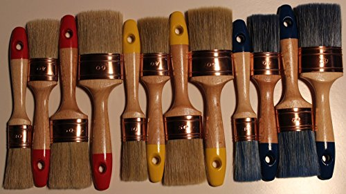 top12-set-of-12-oval-restorers-brushes-chalk-paint-waxing-staining-best-no-bristle-loss-mix-and-pure